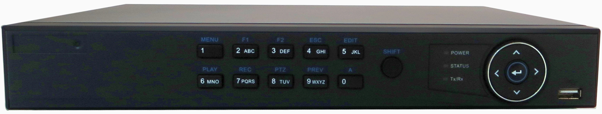 eSecure 4 Channel Tribrid DVR: HD-TVI / Analog 960H / IP Hybrid