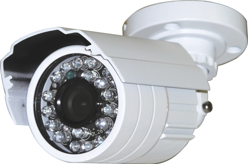 Outdoor IR Bullet Camera, CMOS, 26 Led, upto 60FT