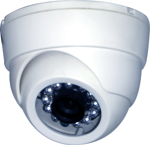 Indoor Eyeball IR Dome Camera, CMOS 700TVL, IR Cut, 26IR Led