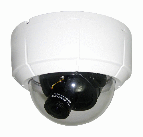 Indoor Vari-Focal D/N Gimbal Dome Camera, 600TVL