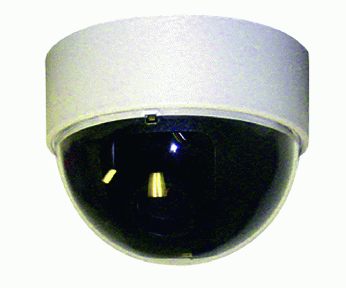 "Indoor Color 3"" Mini Dome Camera, White"
