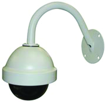 Dome Camera Wall Mount Bracket Gooseneck