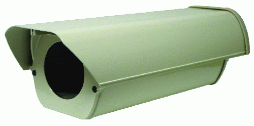 Outdoor Side Open Camera Housing (Screw Type) with Cable Mgmt