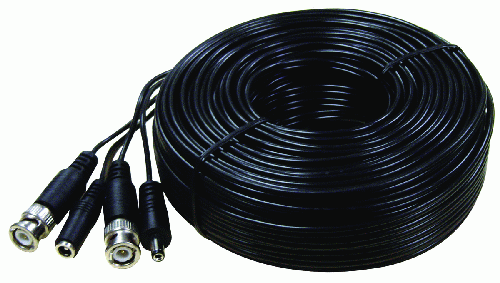 Pro Grade Premade Video and Power Cable, 150FT