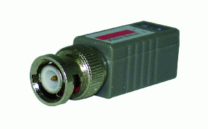 Passive Video Balun Connector, Up to 1000FT