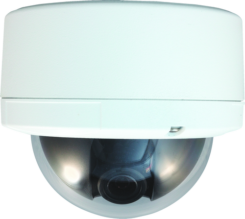 Outdoor Dome IP Camera, HD H.264 2MP CMOS PoE