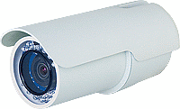 Outdoor IR Bullet IP Camera, HD H.264 2MP CMOS PoE