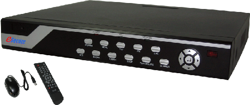 eSecure 4CH H.264 Standalone DVR, ES00A140, Smartphone