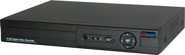 4CH H.264 Standalone DVR, Smartphone Support