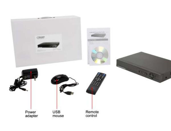 4ch H 264 Standalone Dvr Smartphone Support Es00m140