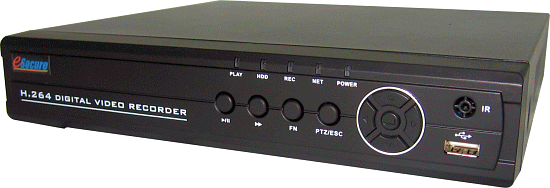 8CH H.264 DVR with RS485,4CH Audio, 240FPS, VGA, Smartphone