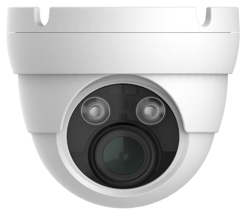 2MP Eyeball IR Dome Camera 1080p 4-in-1 2.8mm Lens OSD COC