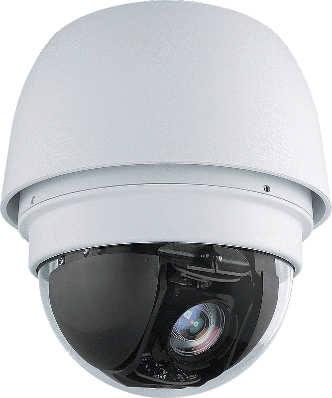 Outdoor IP PTZ Camera, 18x, Full HD, H.264, High Power POE, 24VA